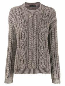 Iris Von Arnim cashmere chunky knit sweater - Brown