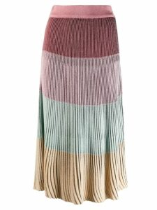 Marco De Vincenzo ribbed skirt - PINK