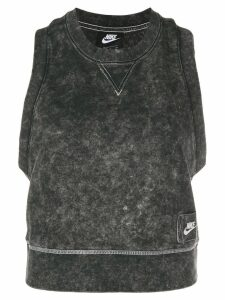 Nike side logo tank top - Black