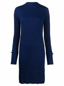MRZ pierced midi dress - Blue