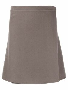 Iris Von Arnim cashmere skirt - Grey