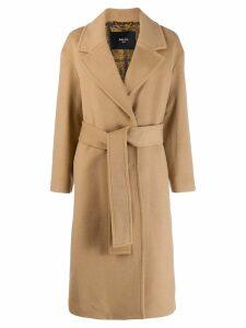 Paltò belted robe coat - Brown