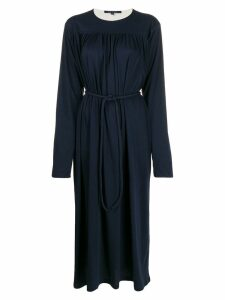 Sofie D'hoore gathered midi dress - Blue