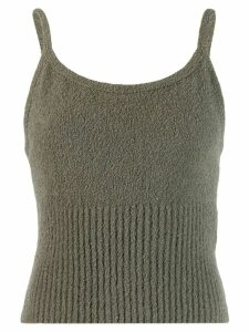 Our Legacy ribbed cami top - Green