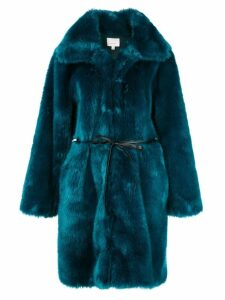 Cinq A Sept Sara oversized coat - Blue