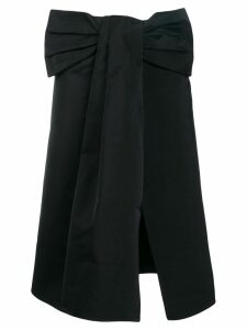 Rochas bow detail skirt - Black