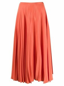 Chinti & Parker pleated skirt - Orange