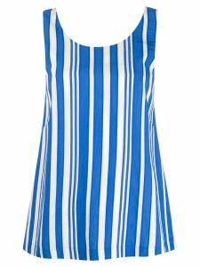 Chinti & Parker striped tank top - Blue