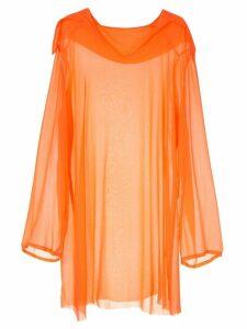 Zambesi Fire Overthrow dress - Orange