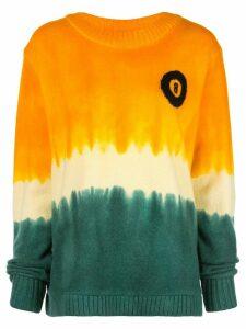 The Elder Statesman tie-dye effect sweatshirt - Orange