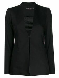 Alice+Olivia plunging neck blazer - Black