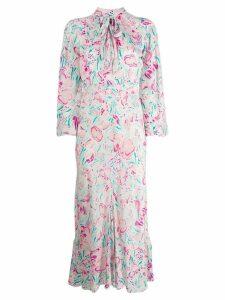 Rixo Amel floral dress - PINK