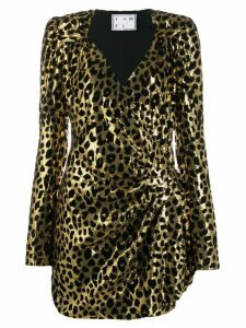 In The Mood For Love Sierra sequin dress - Gold