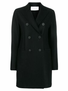 Harris Wharf London double buttoned coat - Black