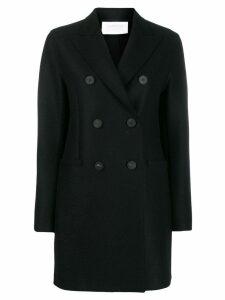 Harris Wharf London double buttoned coat - Black
