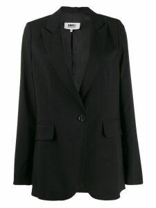 Mm6 Maison Margiela relaxed fit blazer - Black