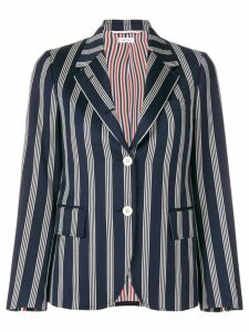 Thom Browne Repp Stripe Narrow Sport Coat - Blue