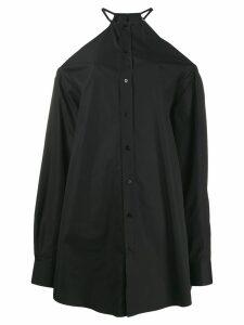 Maison Margiela cold shoulder shirt - Black
