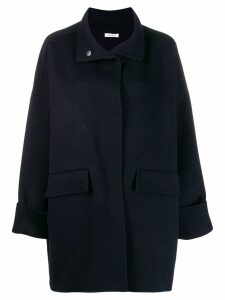 P.A.R.O.S.H. oversized short coat - Blue