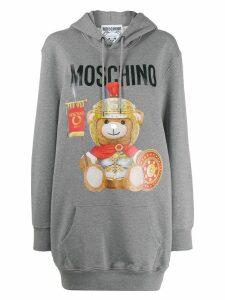 Moschino Teddy Bear hoodie dress - Grey