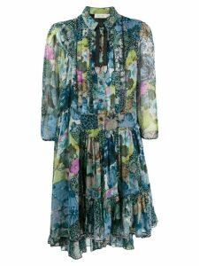 Coach floral print shirt dress - Green