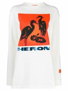 Heron Preston graphic-print T-shirt - White