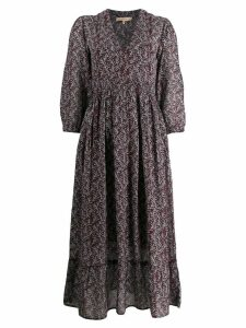 Vanessa Bruno floral midi dress - Purple