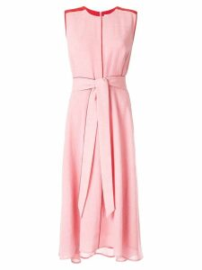 Cefinn belted midi dress - Pink