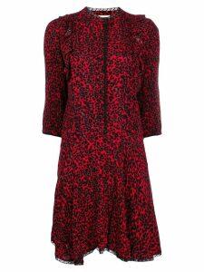 Zadig & Voltaire Remo Leo mini dress - Red