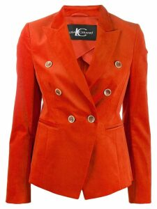 Luisa Cerano classic double-breasted blazer - Orange