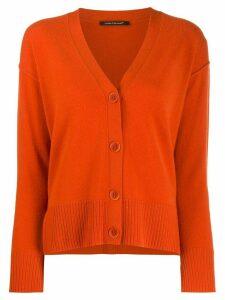 Luisa Cerano V-neck cardigan - Orange