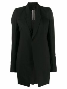 Rick Owens long-length blazer - Black