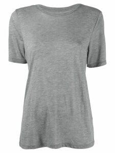 Isabel Marant Étoile round neck T-shirt - Grey