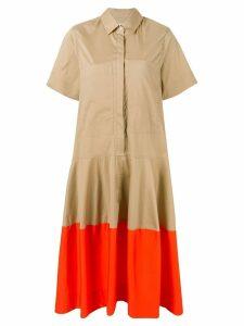 Lee Mathews Elsie shirt dress - Brown