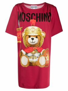 Moschino Teddy Bear T-shirt dress - Red