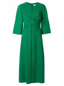 Cefinn twist midi dress - Green