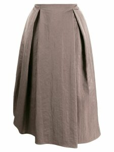 Fabiana Filippi A-line midi skirt - Brown