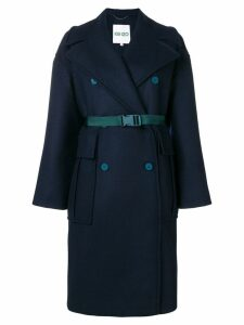 Kenzo double breasted coat - Blue