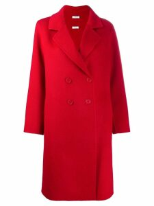 P.A.R.O.S.H. classic double-breasted coat - Red