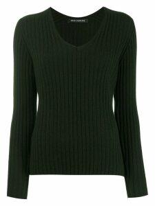 Iris Von Arnim long-sleeve fitted sweater - Green
