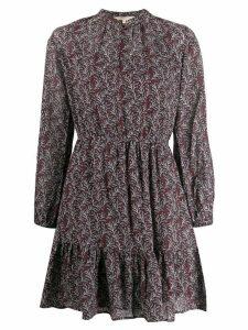 Vanessa Bruno floral short dress - Purple