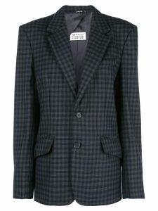 Maison Margiela checked blazer - Grey