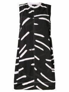 Lee Mathews Palmas printed dress - Black