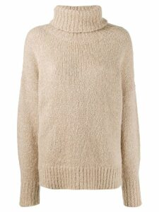 Isabel Marant Étoile knitted roll neck jumper - Neutrals