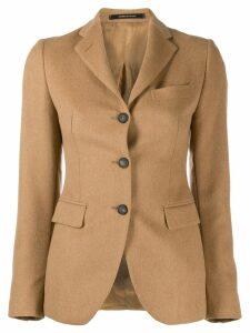 Tagliatore classic fitted blazer - Neutrals