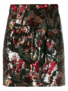 Iro Liv sequinned skirt - Red