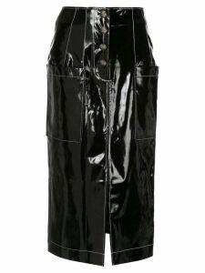Rejina Pyo Carmen midi skirt - Black