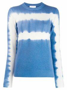 Christian Wijnants tie-dye knit top - Blue