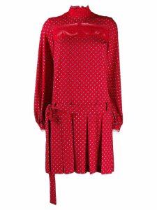 Ermanno Scervino printed drop waist dress - Red