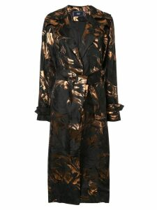 Taller Marmo Hendrix trench coat - Black